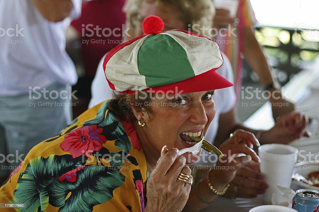 Italian and Lovin' It! royalty-free stock photo
