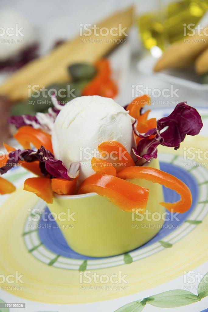 Italian appetizer royalty-free stock photo