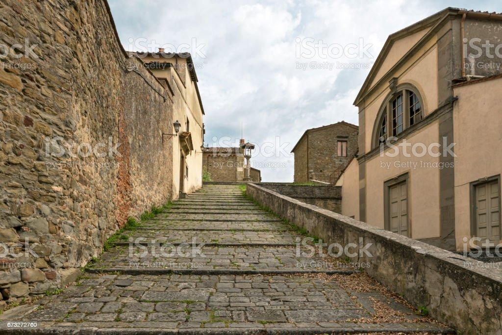Italian architecture stock photo