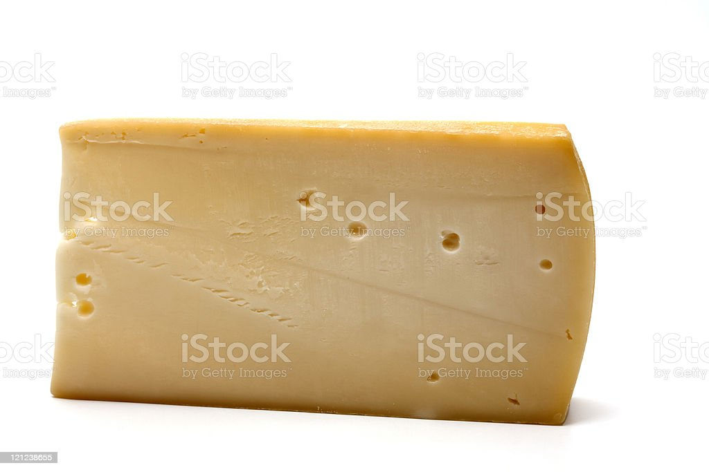 italian asiago cheese royalty-free stock photo