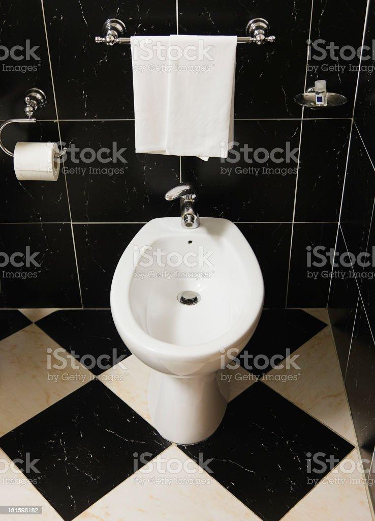 Italian Bathroom stock photo