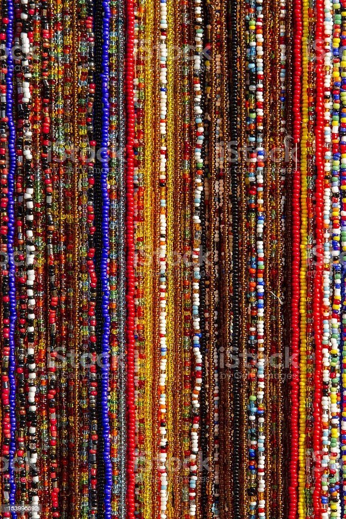 Italian Beads stock photo