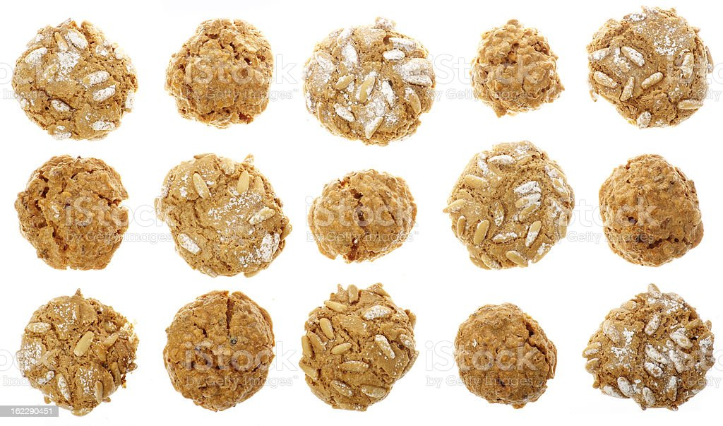Italian Biscuits stock photo