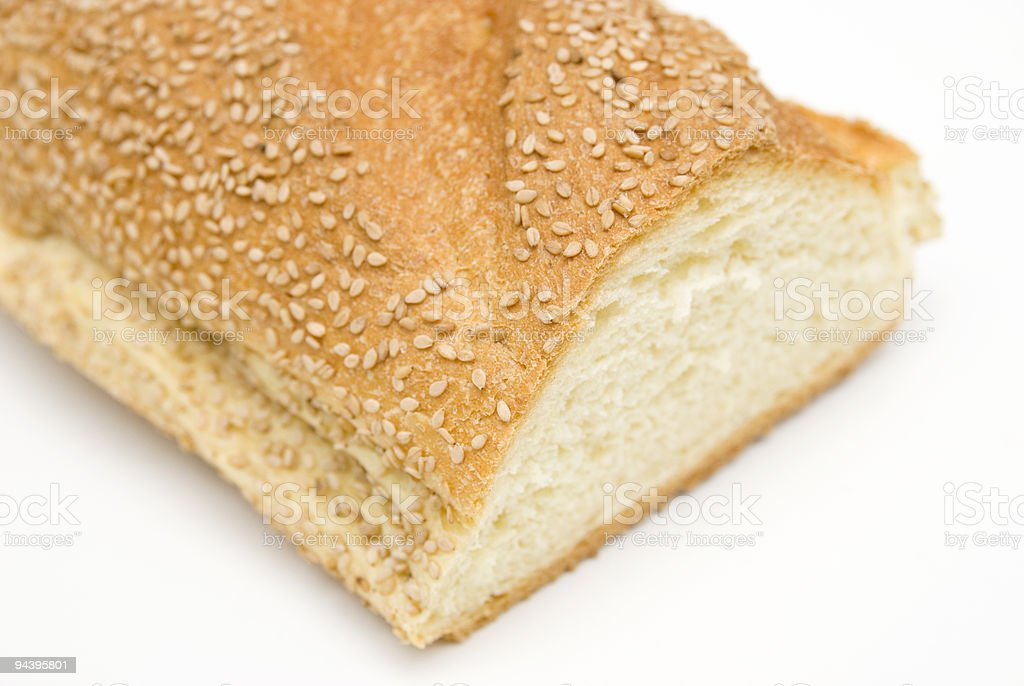 italian bread royalty-free stock photo