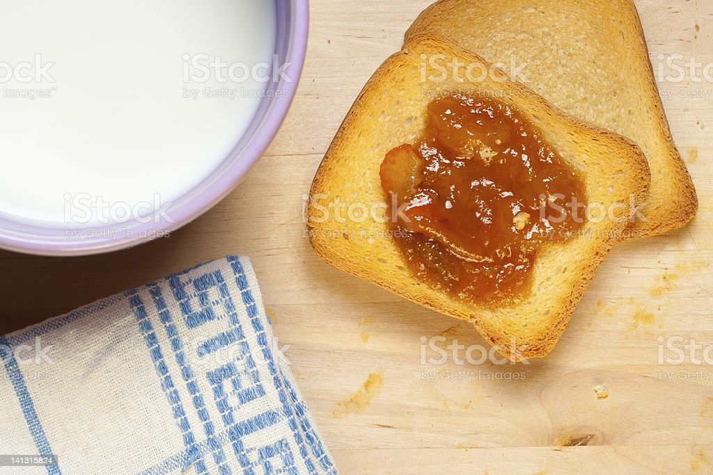 Итальянский завтрак Стоковые фото Стоковая фотография