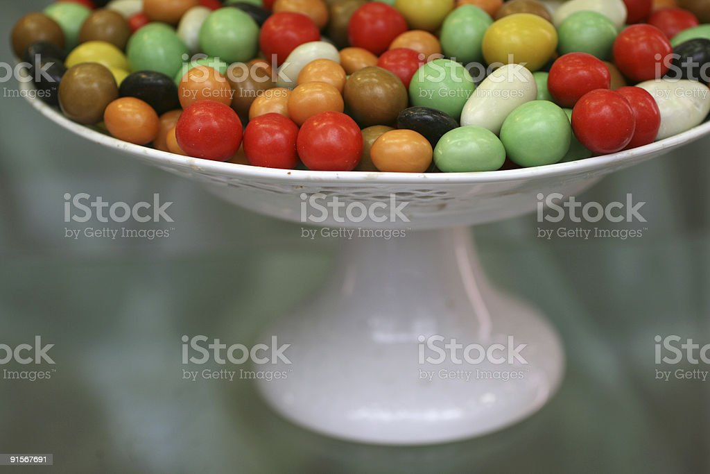 Italian Candy on display in Florence royalty-free stock photo