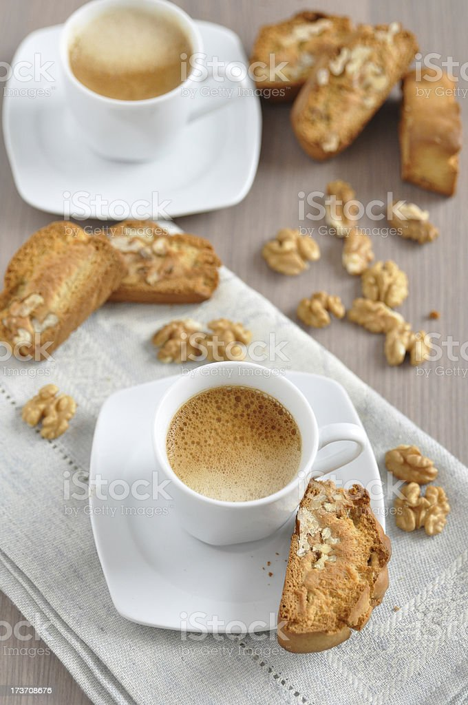 Italian Cantuccini Cookies royalty-free stock photo
