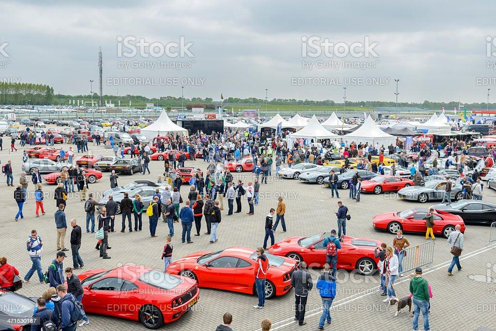Italian car event royalty-free stock photo