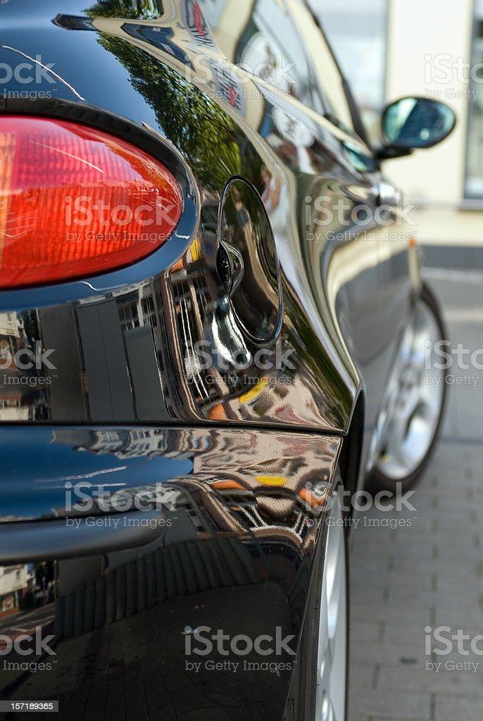 Italian car royalty-free stock photo