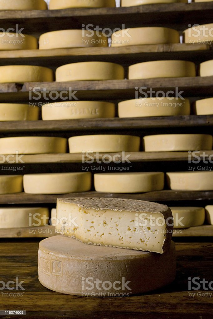 italian cheese in refining royalty-free stock photo
