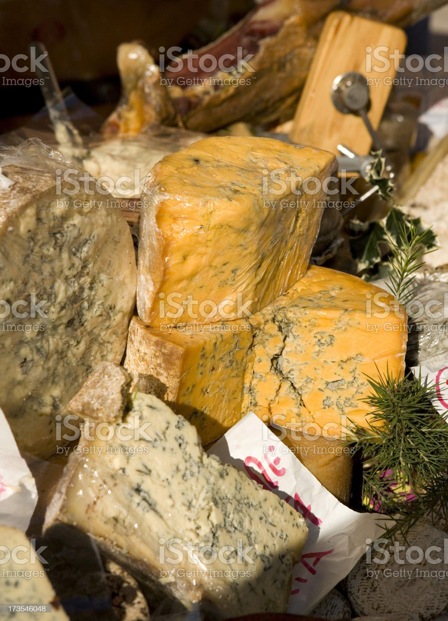 Italian Cheeses. royalty-free stock photo