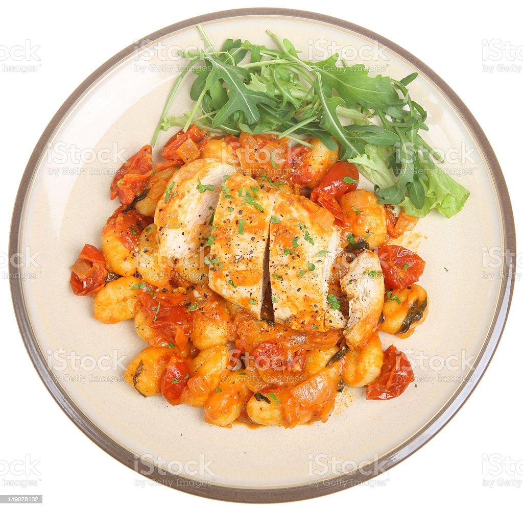 Italian Chicken Cacciatore royalty-free stock photo