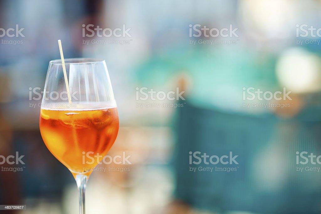 Italian Cocktail royalty-free stock photo
