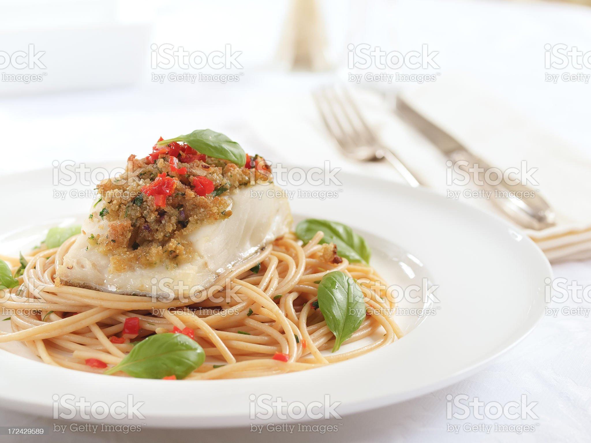 Italian  Cod royalty-free stock photo