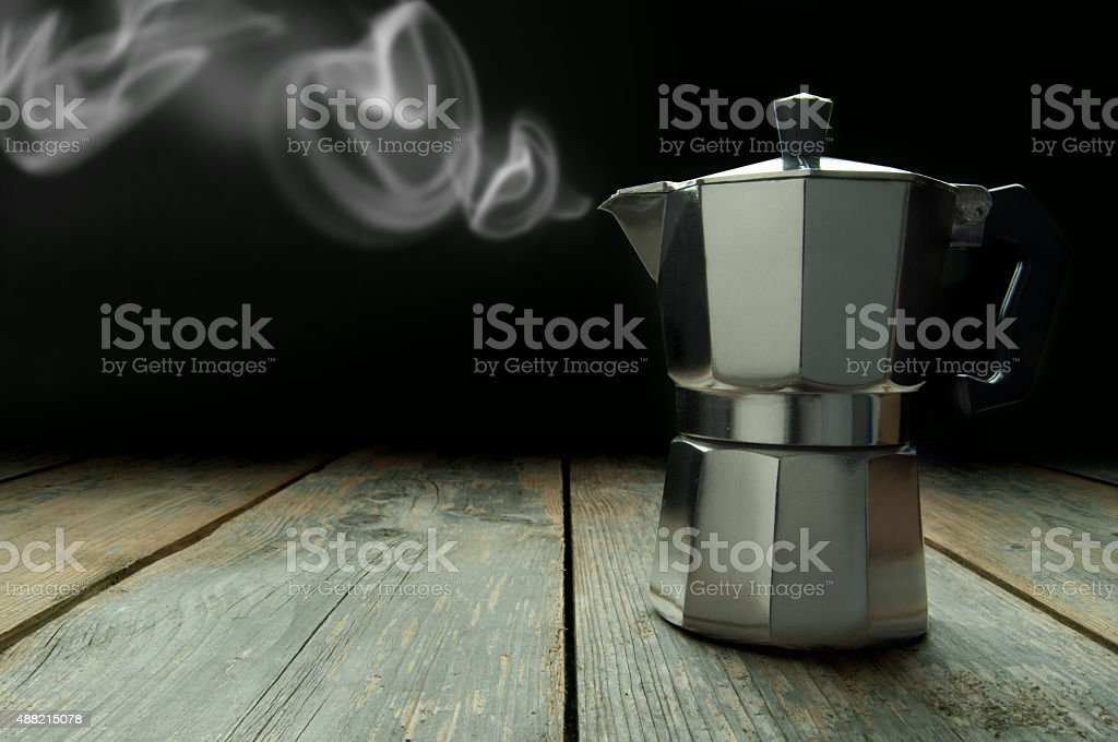 Italian coffee stock photo