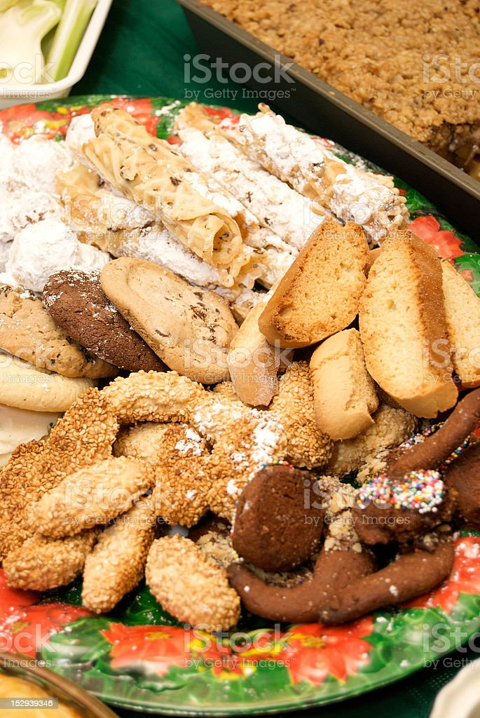 Italian Cookies royalty-free stock photo
