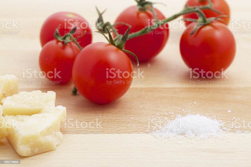 Italian cooking ingredients royalty-free stock photo