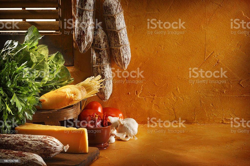 Italian Cooking stock photo