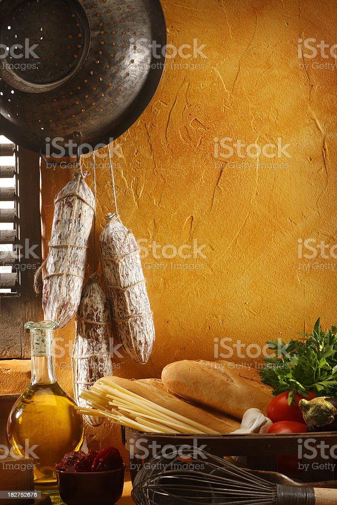 Italian Cooking royalty-free stock photo