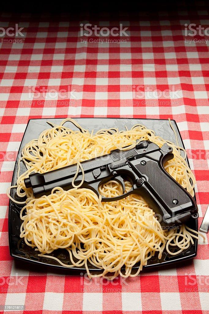 Italian crime royalty-free stock photo