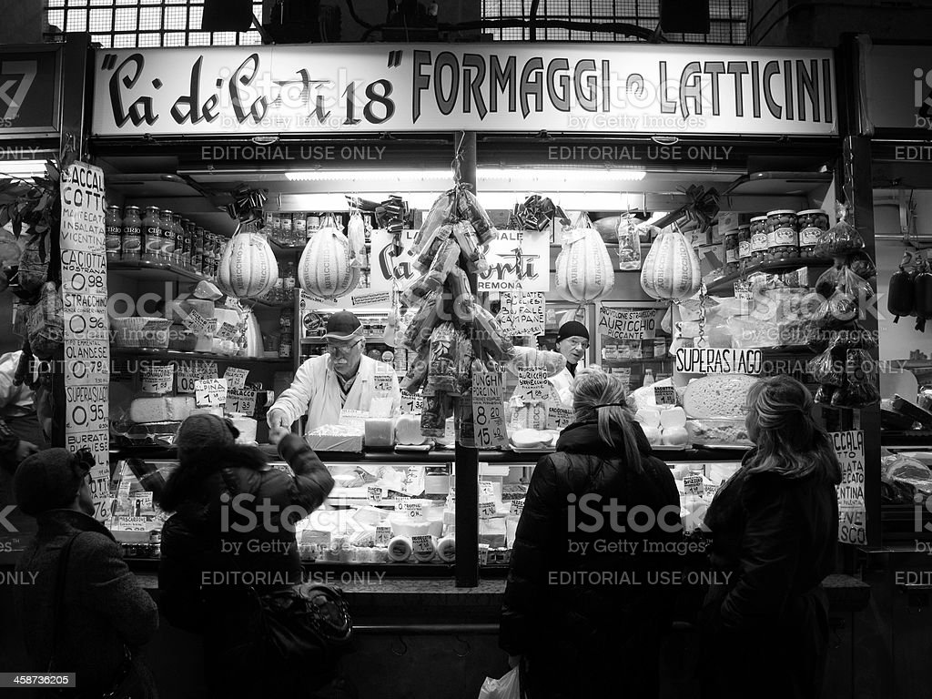 Italian delicatessen royalty-free stock photo