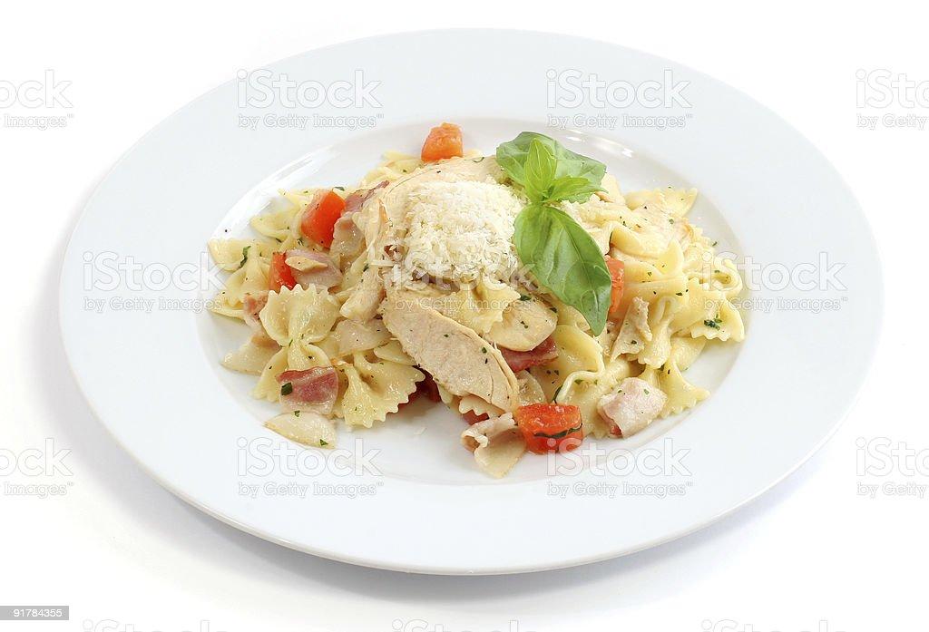 Italian dish royalty-free stock photo