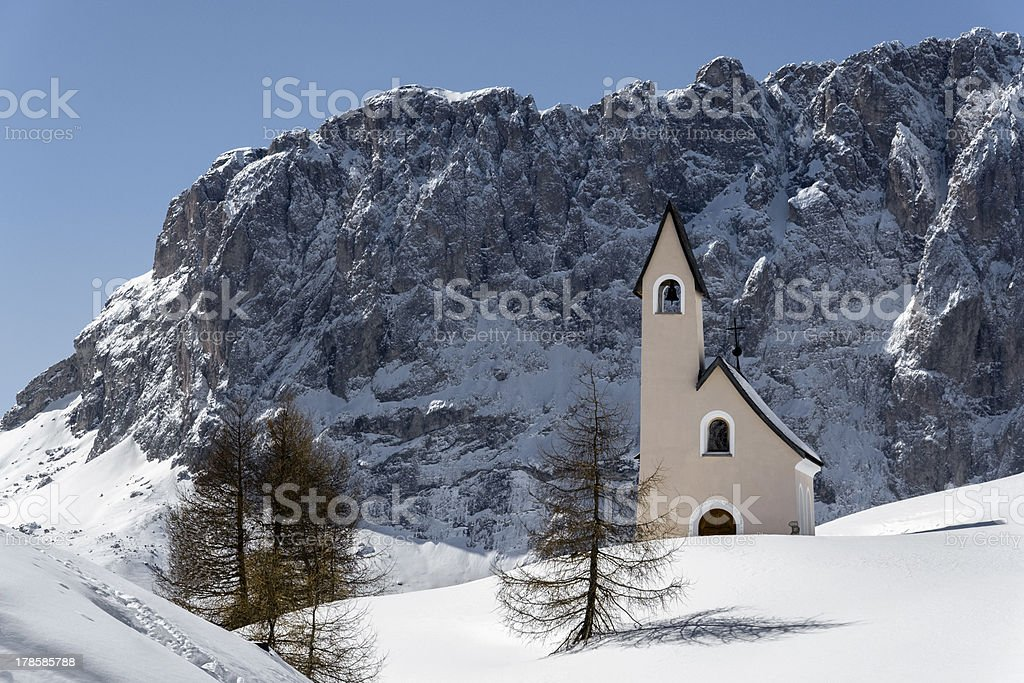 Italian Dolomite Alps stock photo