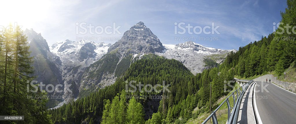 Italian Dolomiti stock photo
