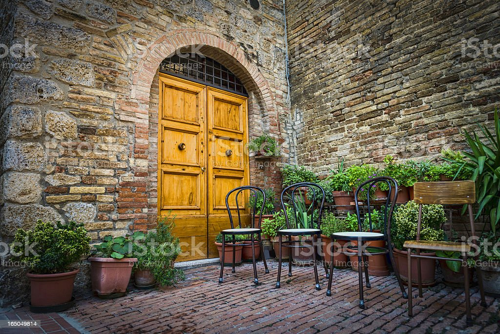 Italian Entrance royalty-free stock photo