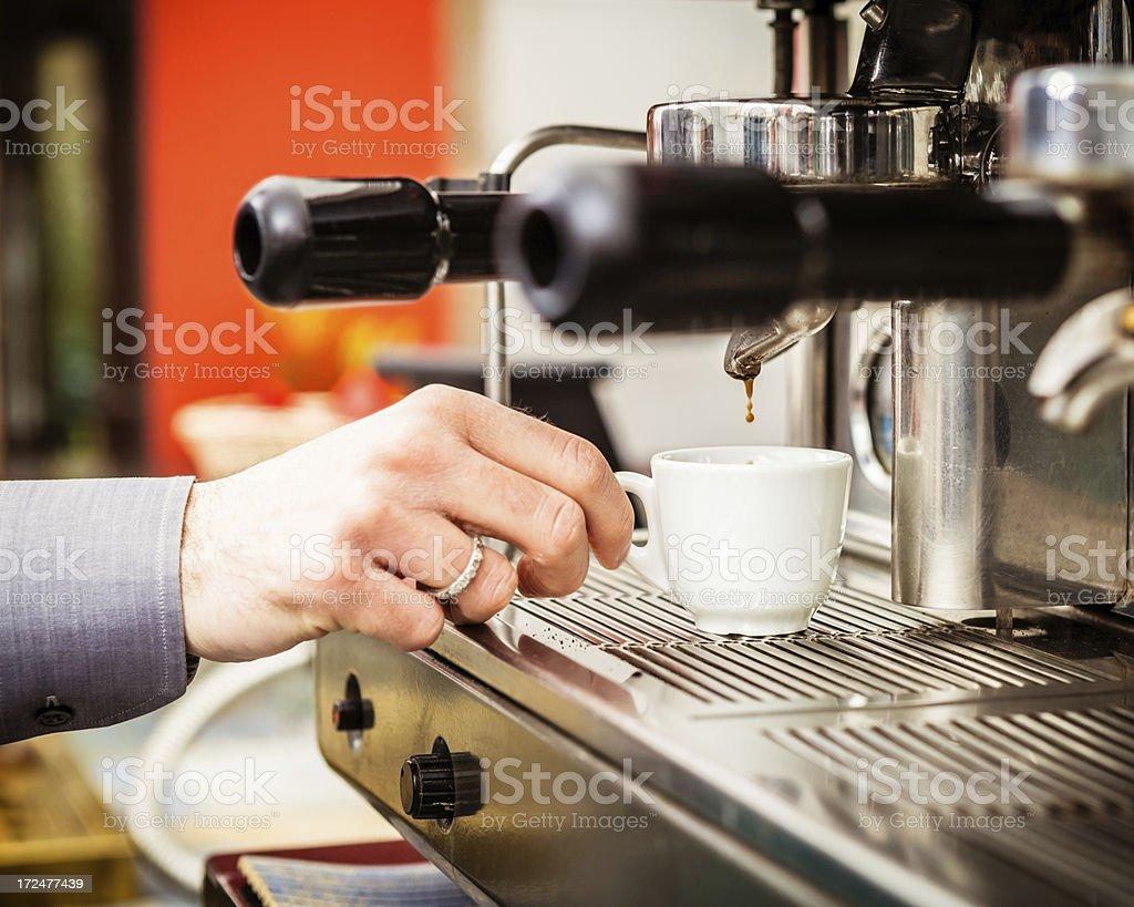 Italian Espresso, Coffee Break royalty-free stock photo
