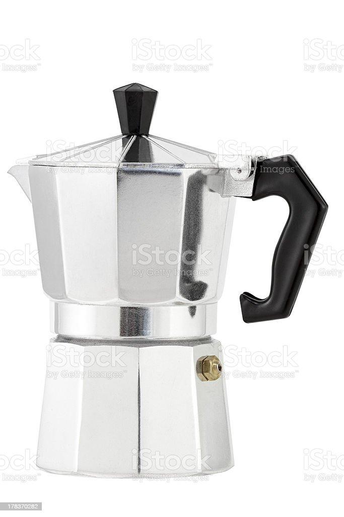 Italian espresso coffee stock photo