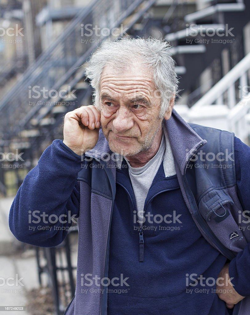 italian expressive man royalty-free stock photo