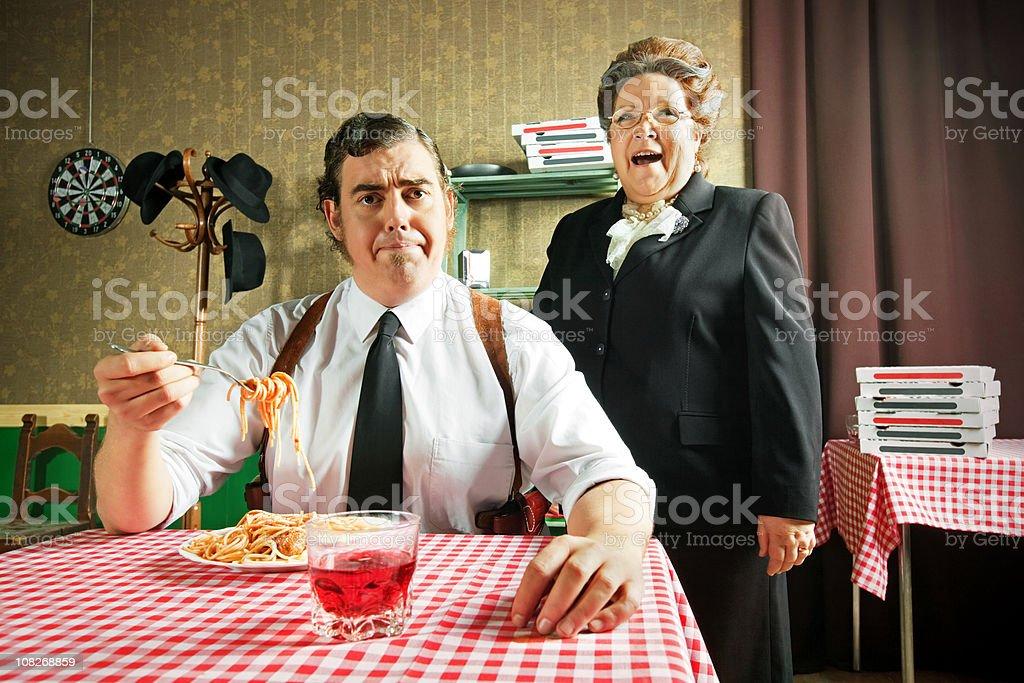 Italian Family royalty-free stock photo