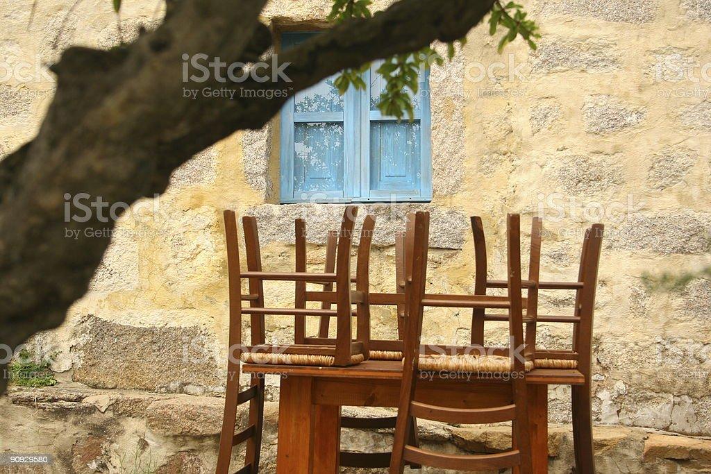 Italian farmhouse feelings royalty-free stock photo
