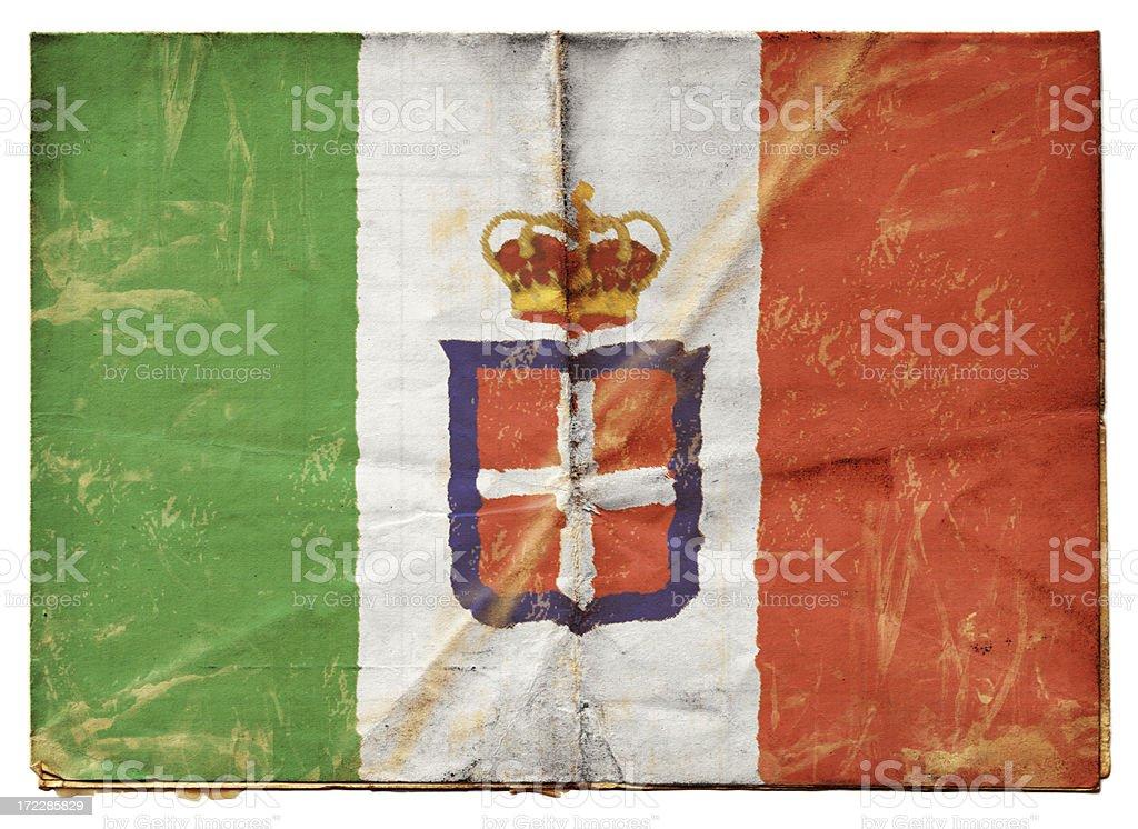Italian Flag (XXL) stock photo