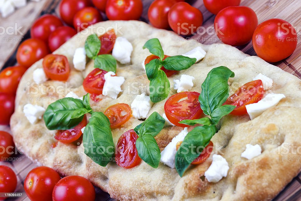 Italian Focaccia stock photo