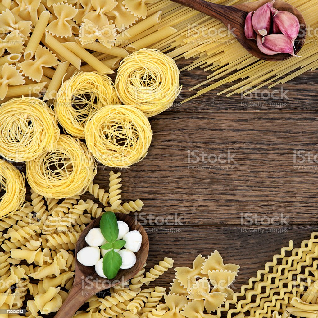 Italian Food  Ingredients stock photo
