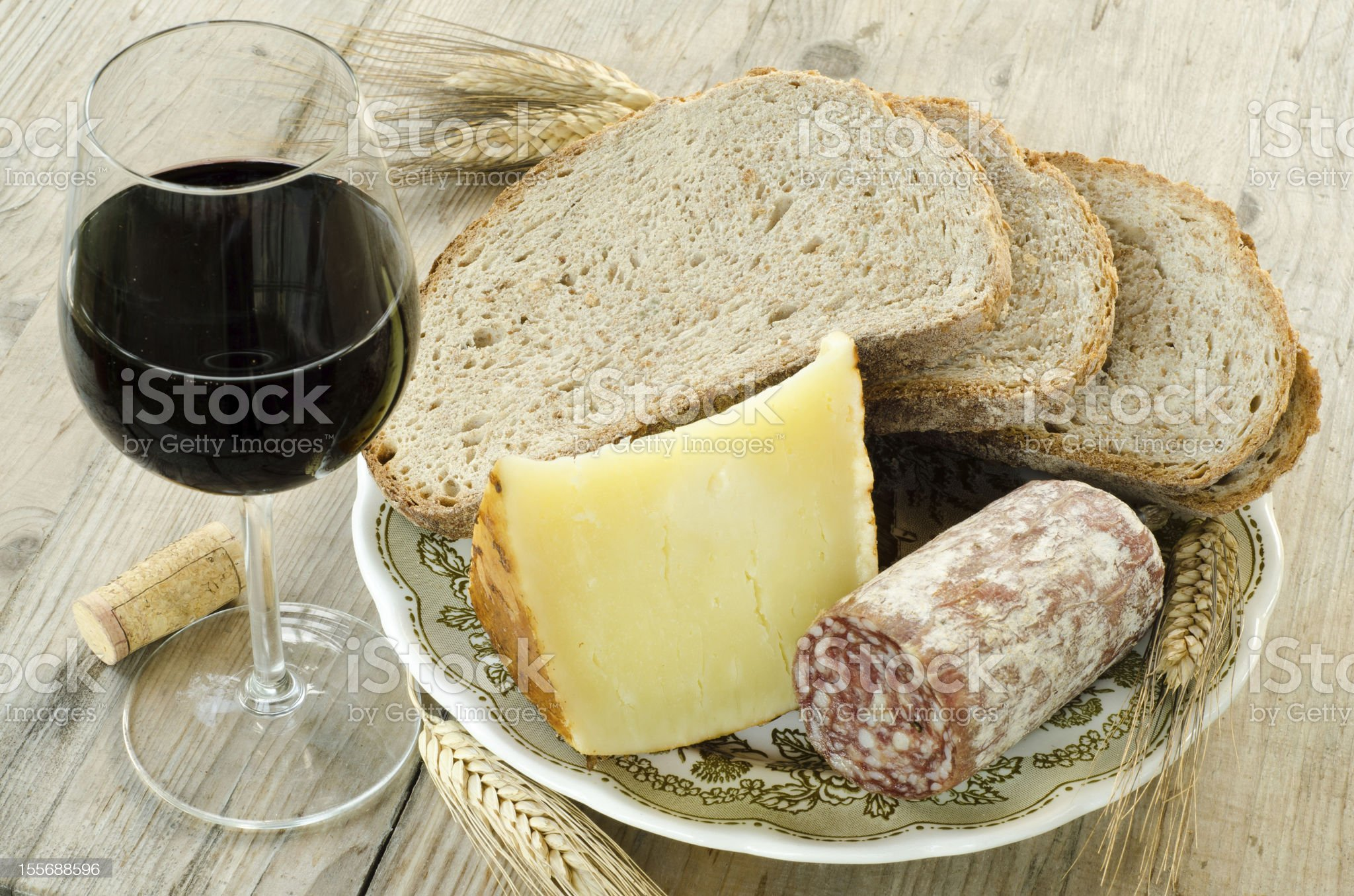 Italian food products royalty-free stock photo