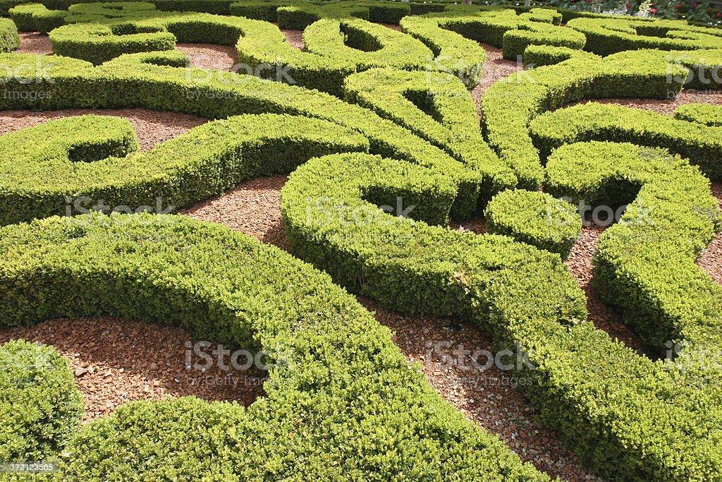 italian garden royalty-free stock photo