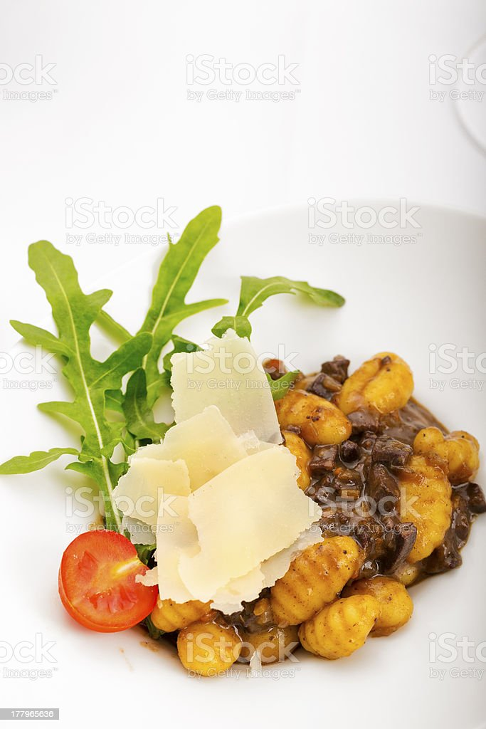 Italian Gnocchi royalty-free stock photo