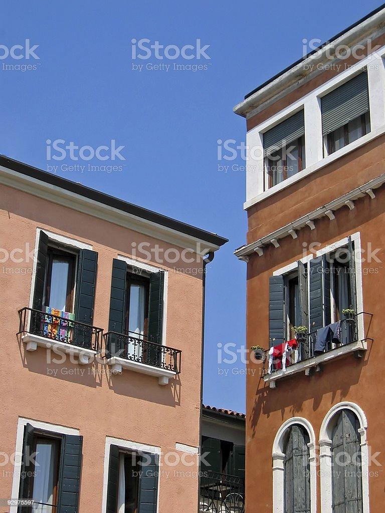 Italian House royalty-free stock photo