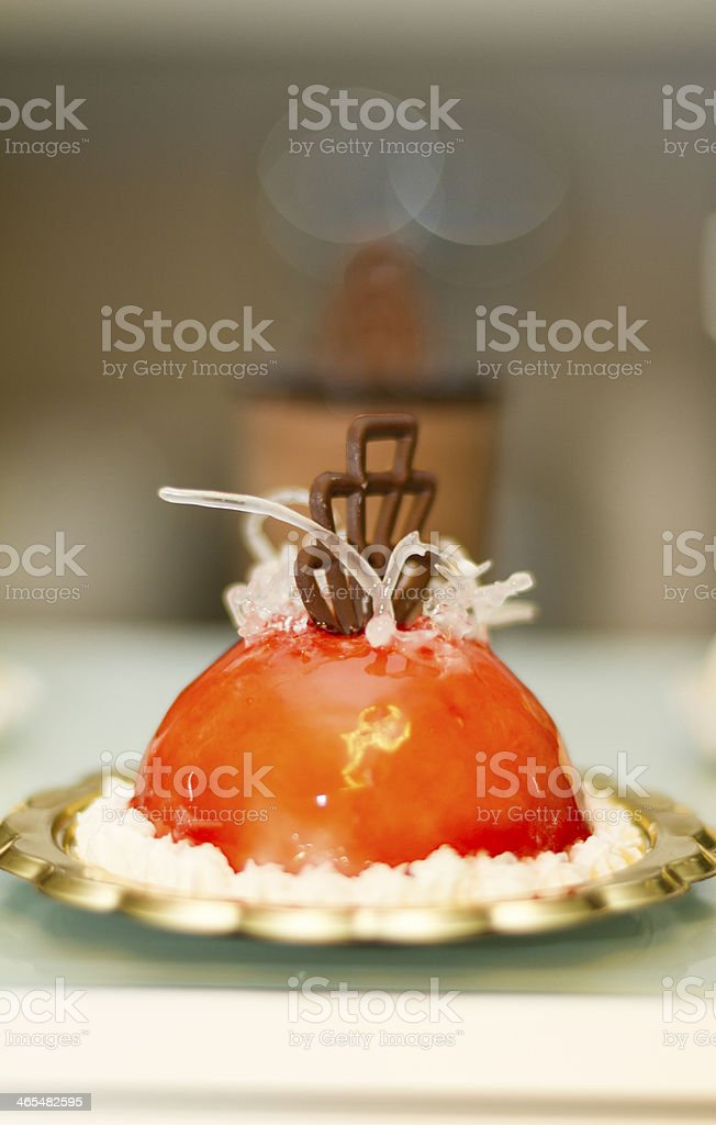 Italian ice cream pastries - Small Business royalty-free stock photo