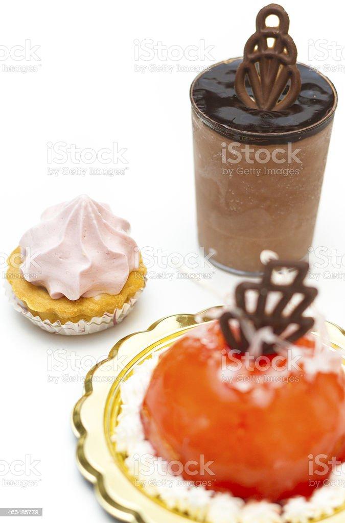 Italian ice cream pastries - Small Business stock photo
