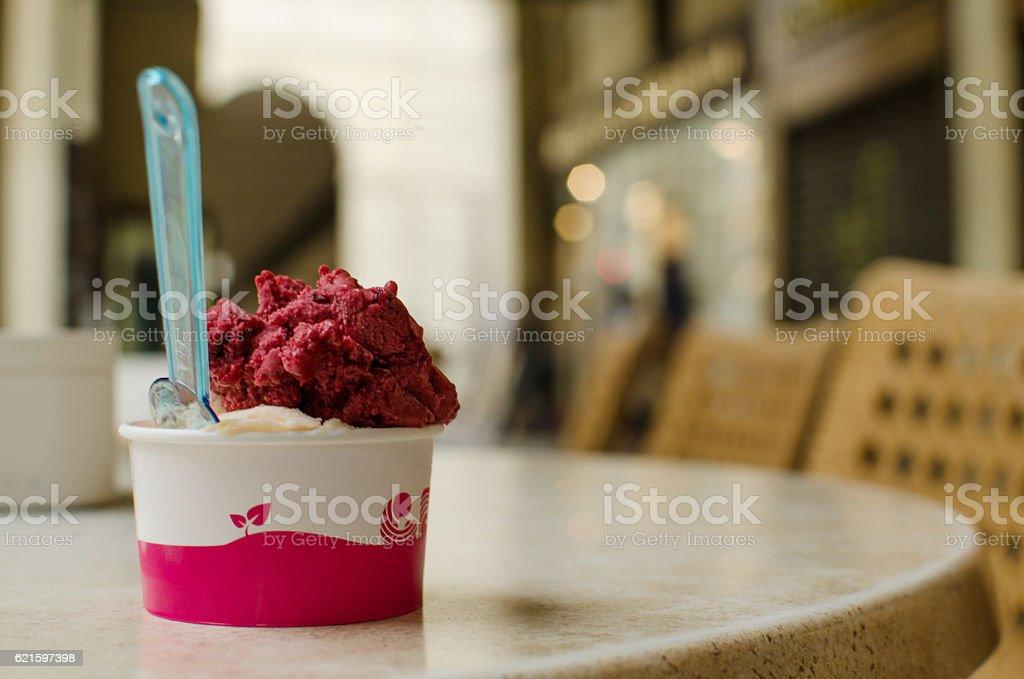 Italian icecream stock photo