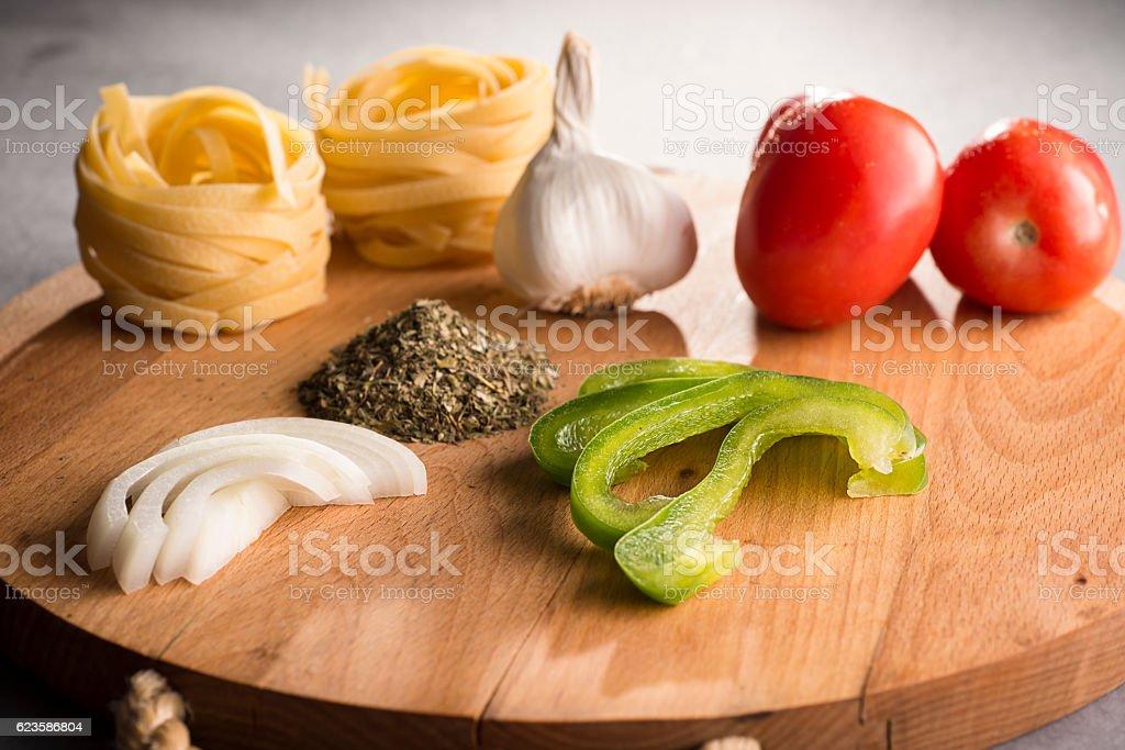 Italian Ingredients stock photo