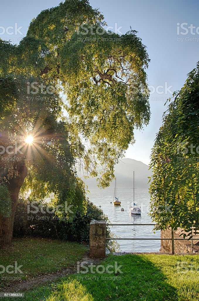 Italian Lake Maggiore royalty-free stock photo