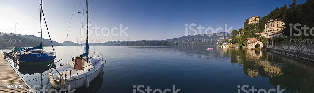 Italian Lakes royalty-free stock photo