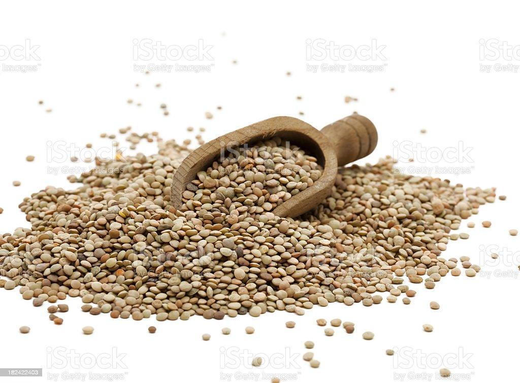 italian lentils royalty-free stock photo
