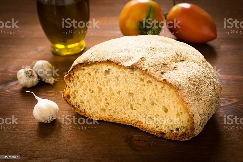Italian pagnotta stock photo