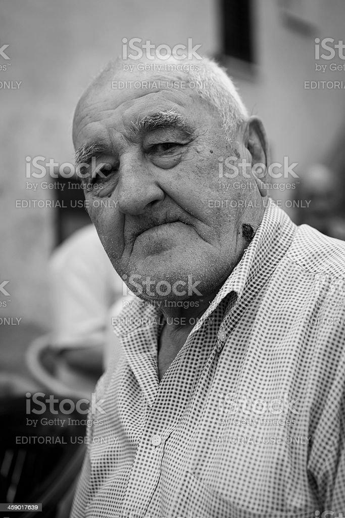 Italian man royalty-free stock photo